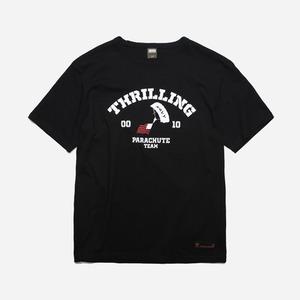 Thrilling logo tee _ black