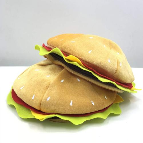 버고킹 햄버거 모자