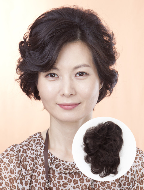 Hair Toppers Wig Wave Net (Human Hair)