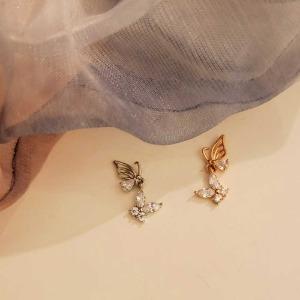 나비 귀걸이