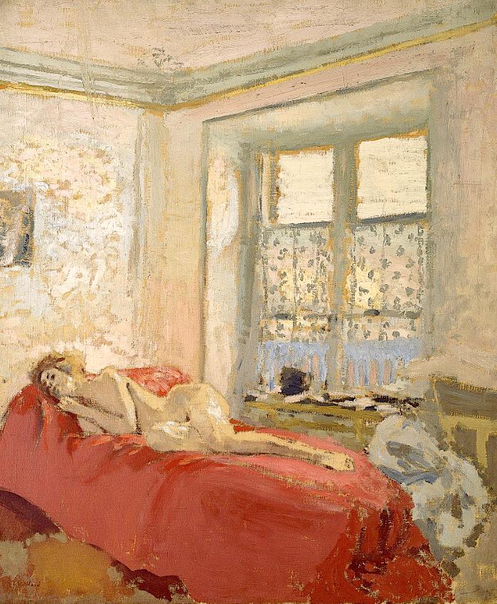 EDOUARD VUILLARD, Nu couché, 1868-1940