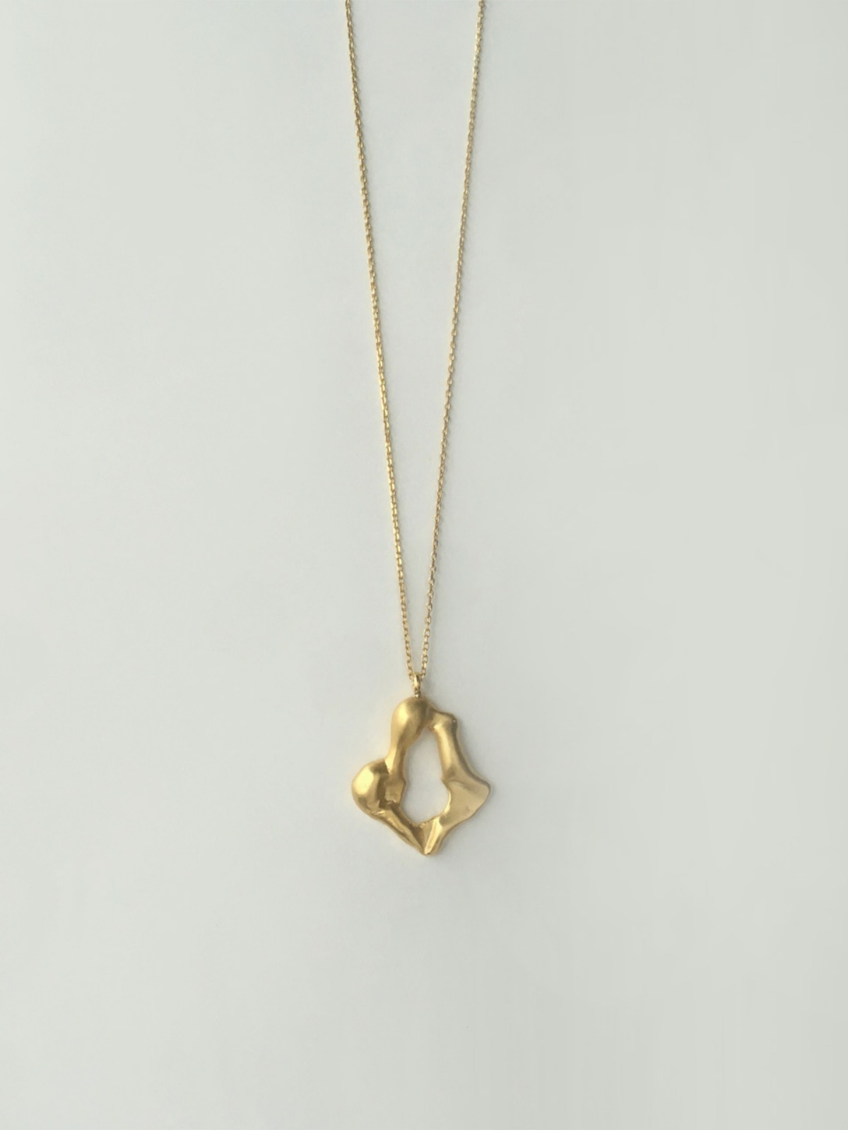 Flame tulip necklace