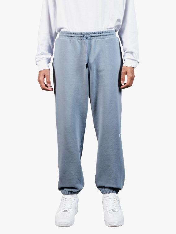 SIGNATURE LOGO PANTS - BLUE GREY