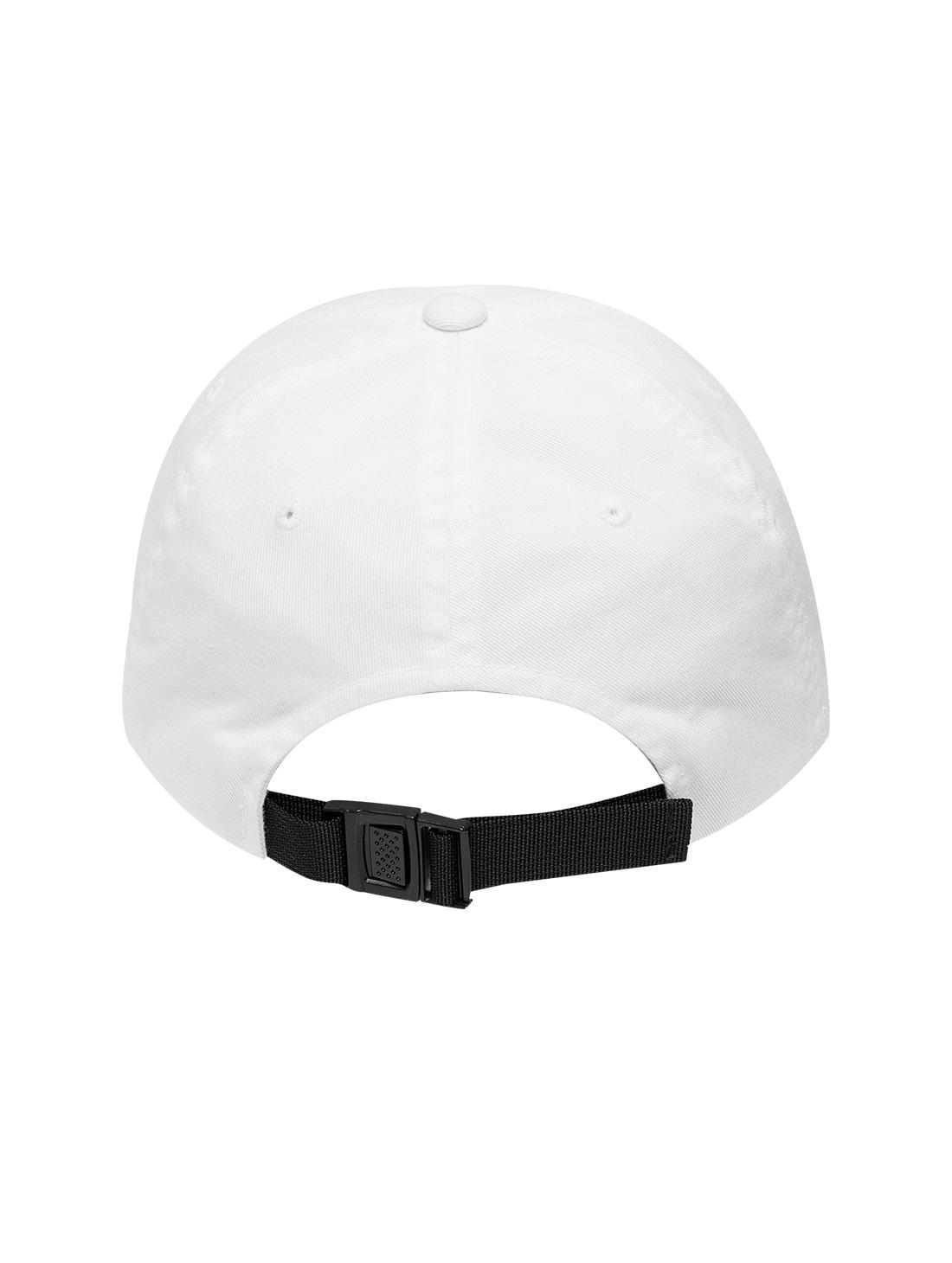 MC BALL CAP - WHITE