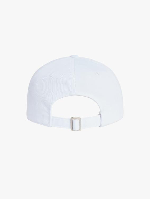 FREE KICK CAPSULE LOGO BALL CAP - WHITE