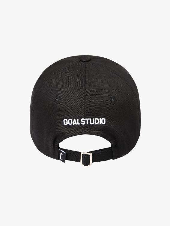 WHO KNOWS G LOGO BALL CAP - BLACK