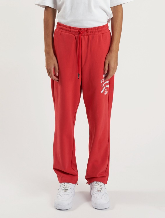 GOALSTUDIO WHO KNOWS BOBSLEIGH PANTS - RED