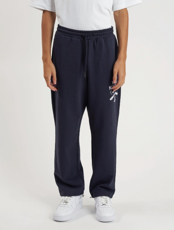 GOALSTUDIO WHO KNOWS BOBSLEIGH PANTS - NAVY