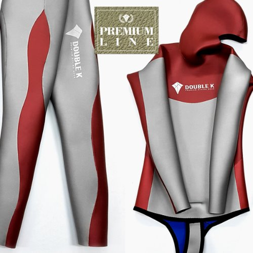 [Premium Line] Double K Freediving Tailor-made Wetsuit Yamamoto No.45 SCS -WAVE