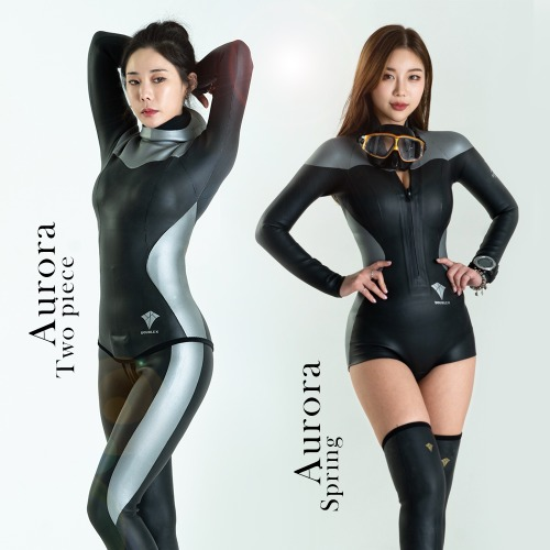 Double K Freediving Surfing Tailor-made Wetsuit Spring Suit Yamamoto No.45 SCS [Aurora]