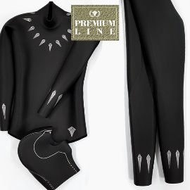 [Premium Line] Double K Free Diving Tailor-made Wetsuit Yamamoto No.45 SCS -Black.P
