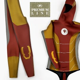 [Premium Line] Double K Freediving Tailor-made Wetsuit SCS - Iron