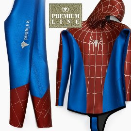 [Premium Line] Double K Free Diving Tailor-made Wetsuit Yamamoto no.45 SCS -Spider