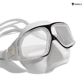 Double K Freediving Mask Jaguar R DALMATIAN-WH
