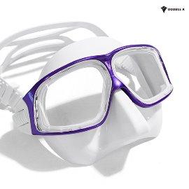 더블케이 프리다이빙 마스크 재규어R METAL-Purple+WH