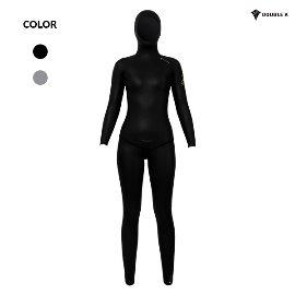 Double K Freediving #45 YAMAMOTO SCS 2mm Black PELO Women's Two Piece
