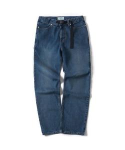 WASHED DENIM WORK PANTS(INDIGO)_CTONPPT04UB1
