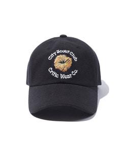 CITY FLOWER BALL CAP(BLACK)_CTTOPHW02UC6