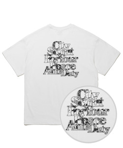 EMBO GRAPHIC T-SHIRTS(WHITE)_CTTOURS03UC2