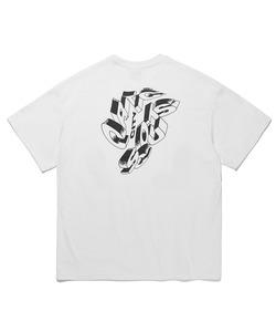 3D TYPO T-SHIRTS(WHITE)_CTTOURS06UC2