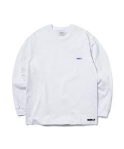 WAVE LONG SLEEVE T-SHIRT(WHITE)_CTONPRL03UC2