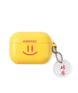 HAPPY FOOD X CRITIC SMILE AIRPODS PRO CASE(YELLOW)_HFTZUAP01UY0