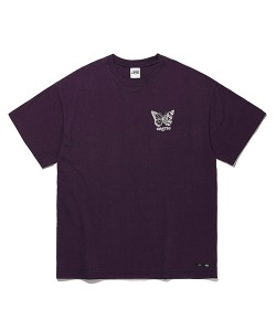 BUTTERFLY T-SHIRTS(PURPLE)_CTTOURS04UV1