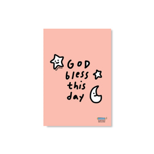 Postcard_ God bless this day