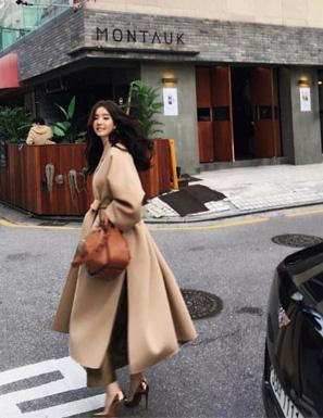 [자체제작] Loew cashmere maxi coat
