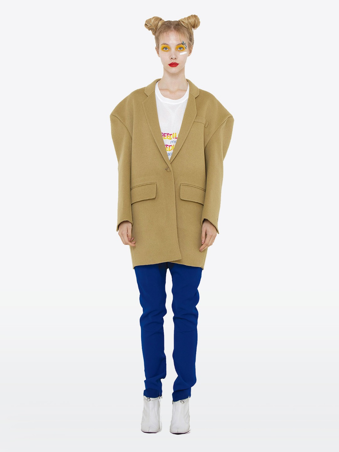 OVER SIZE BROWN JACKET