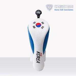 GR 대한민국 골프 국가대표 공식 우드 헤드커버 크로커 블루