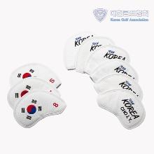 GR 대한민국 골프 국가대표 공식 아이언 커버 세트 화이트