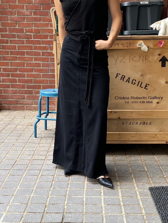 Picky long skirt