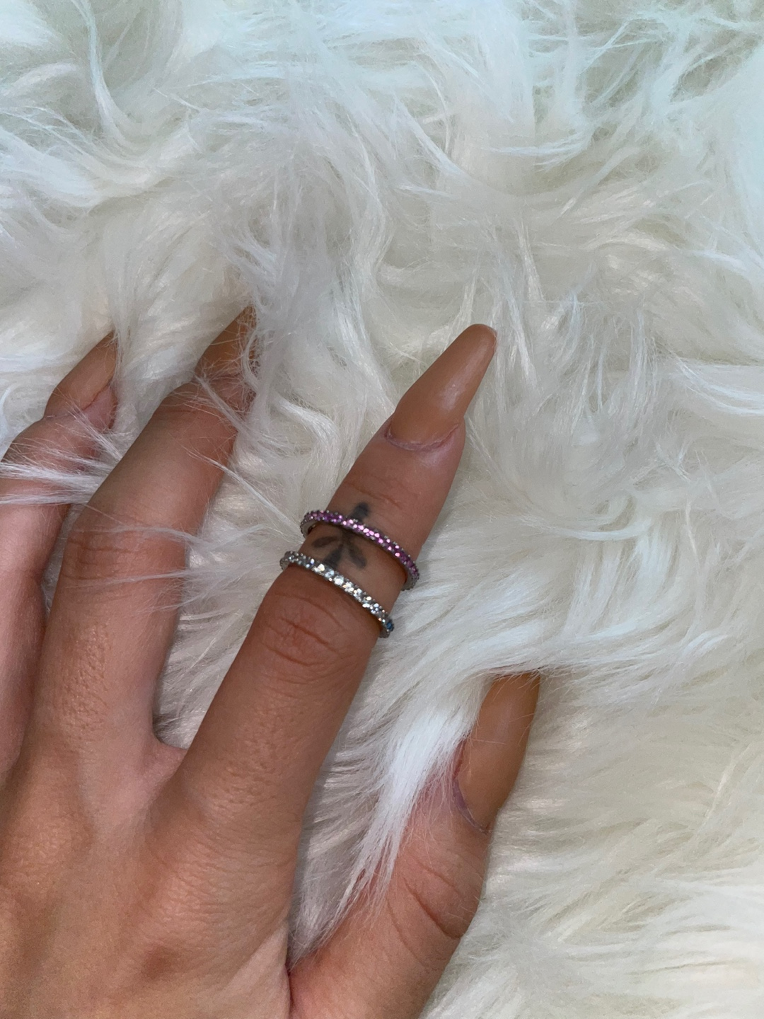 FOUNDᐝ thin Ice ring (925 silver)