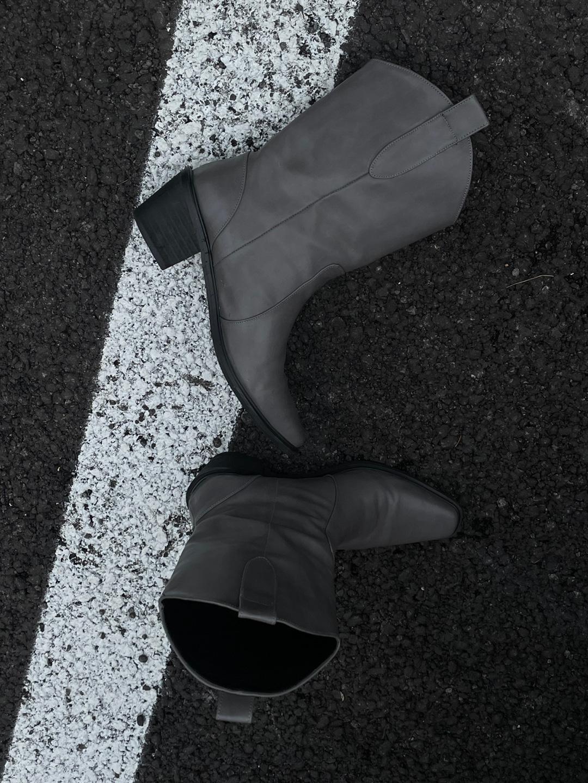 Guddy grey boots