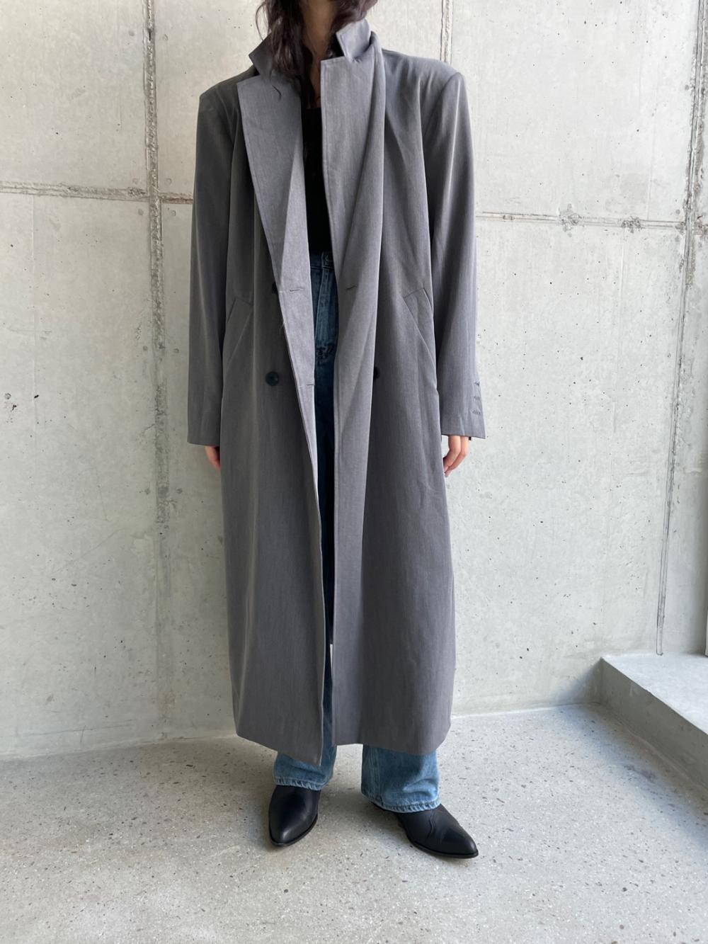 코트 모델 착용 이미지-S1L27