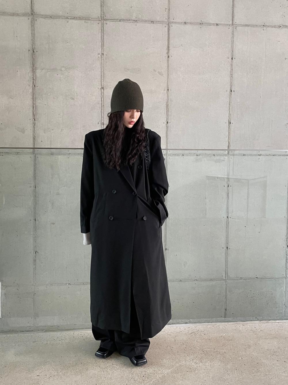 코트 모델 착용 이미지-S1L6