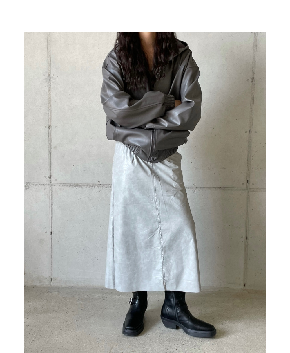 치마 모델 착용 이미지-S1L74