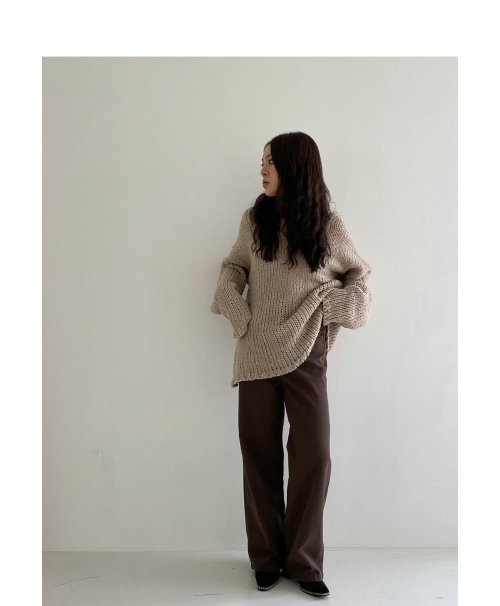 바지 모델 착용 이미지-S1L30