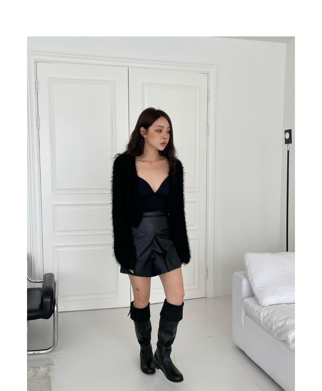 미니 스커트 모델 착용 이미지-S1L81