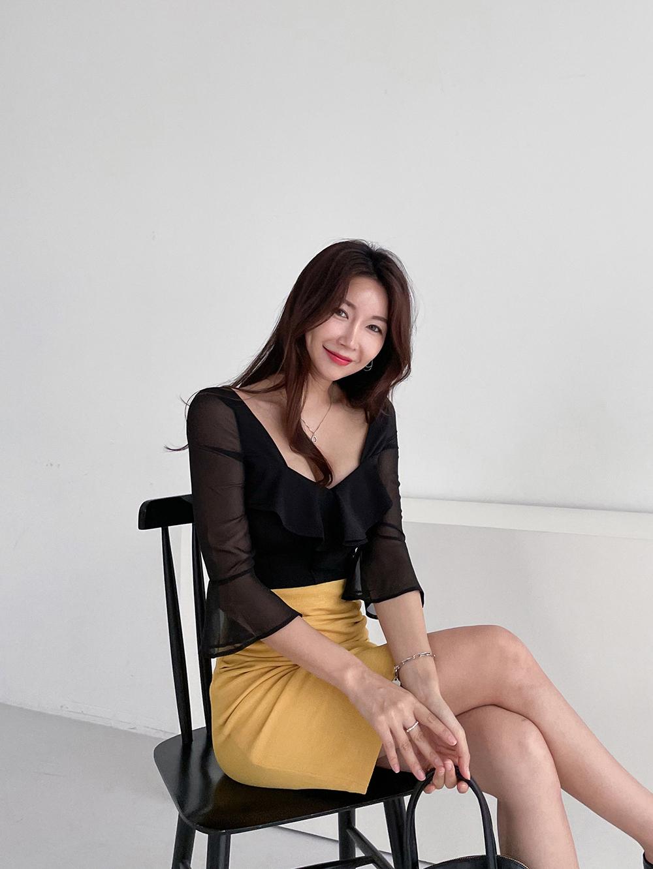 ドレス モデル画像-S3L58