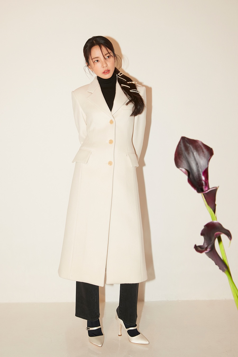 NO.1 OUTER - IVORY