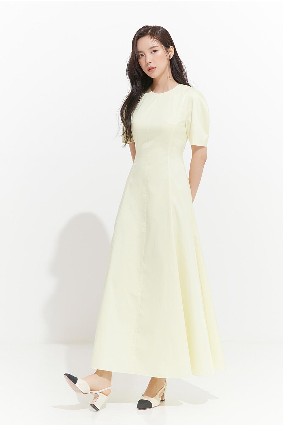 NO.8 DRESS - LEMON
