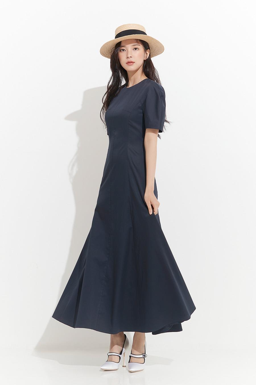 NO.8 DRESS - NAVY