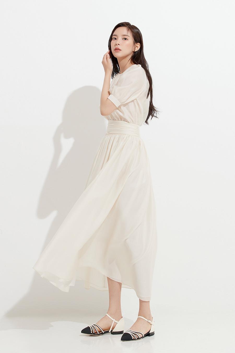 NO.4 DRESS - CREAM
