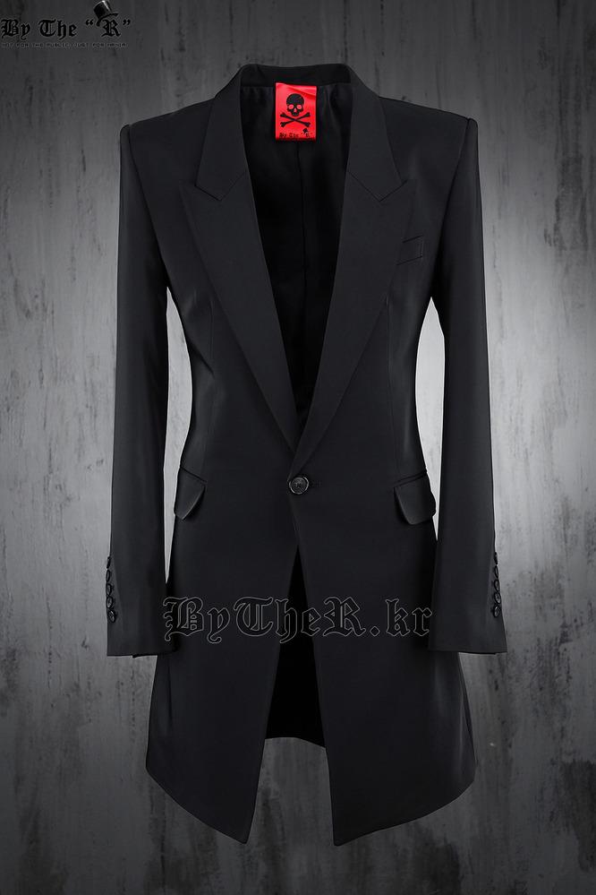 ByTheR Luxury Slim Long Blazer