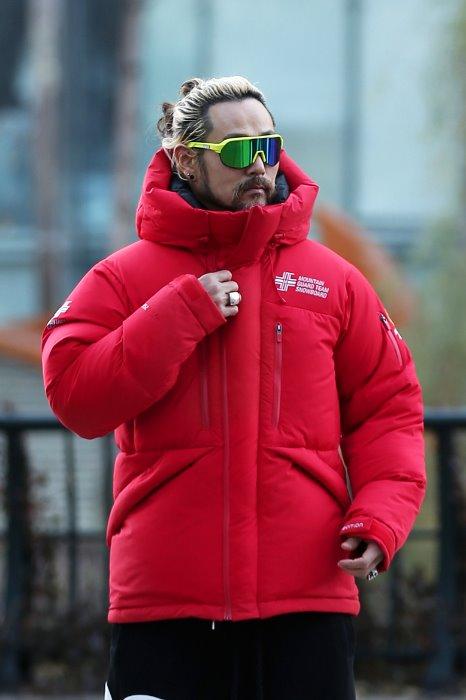 Mountain Guard Alpine 750 Snowboard Team Duck Down Red