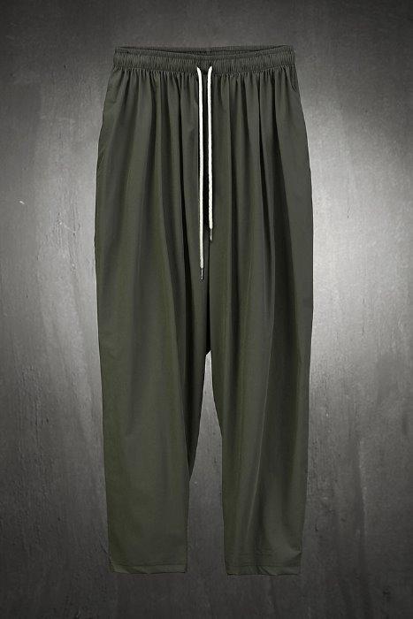 Velcro soft wide hem trousers