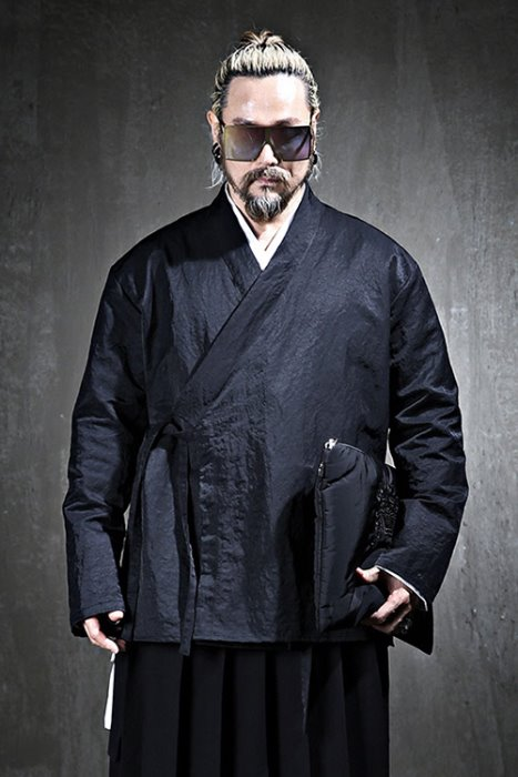 Mukha robe windbreaker shirt cardigan