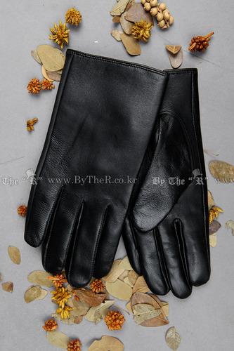 經典款縫線皮革手套